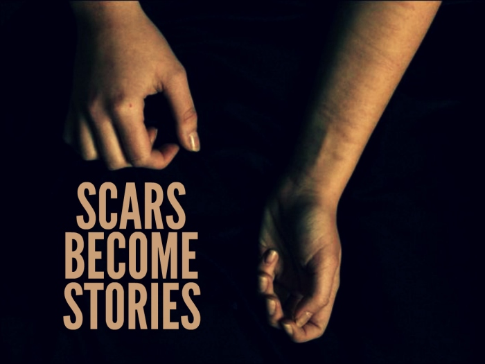 scars become stories