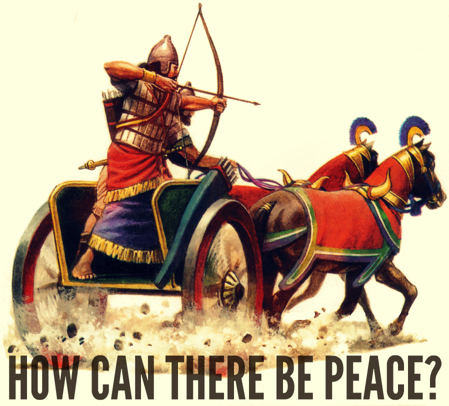 can there be peace in the Many people think of peace as the absence of war but we can feel peace even in times of war, and we can lack peace even when no war is raging the mere absence of.