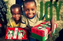 shoe-box joy