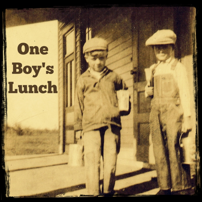 One boy's Lunch