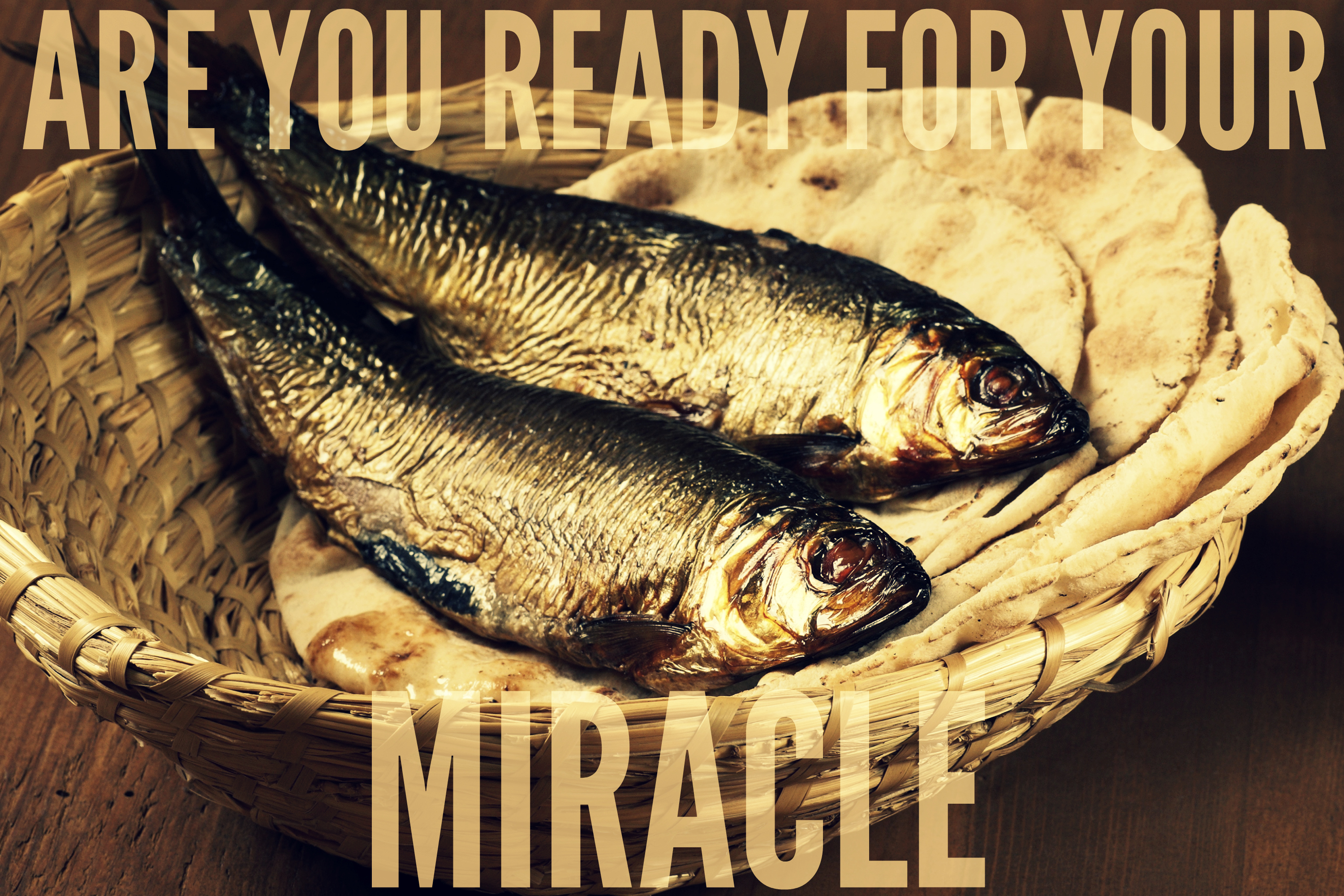 The word this week god will multiply your giving for Loaves and fishes