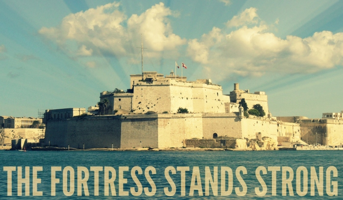 fortress stands