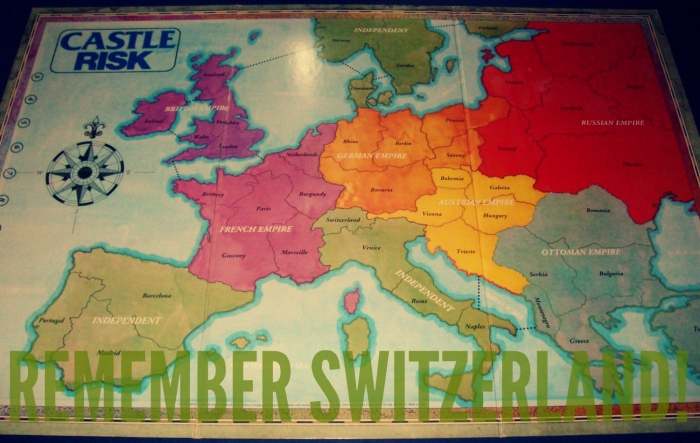 remember switzerland!