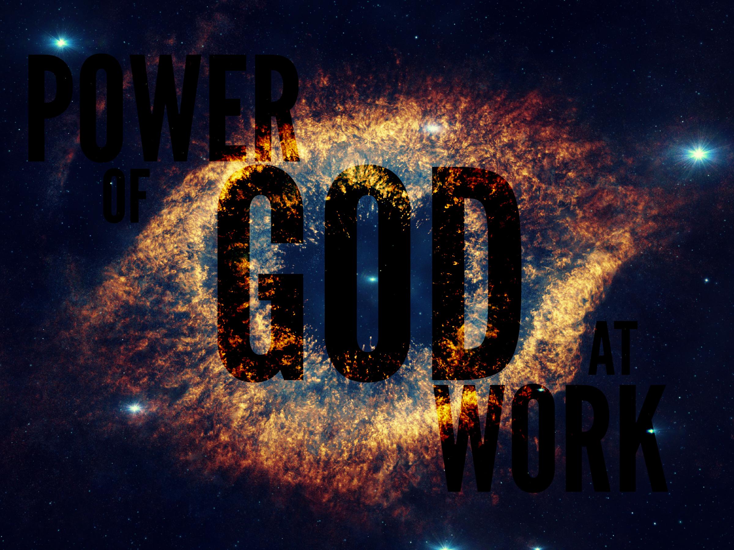 Power Of God : The power of god river walk