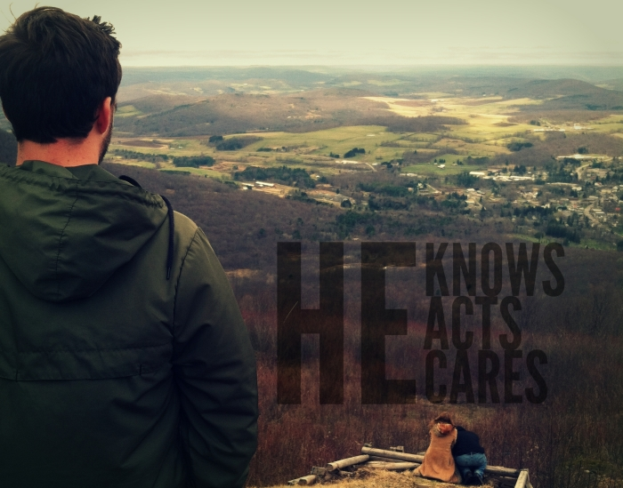 He knows acts cares