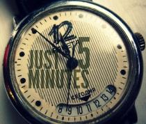 Just five minutes trw