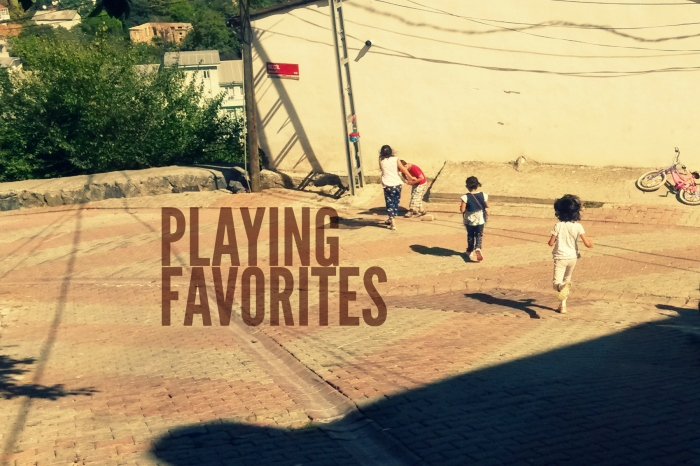 playing favorites