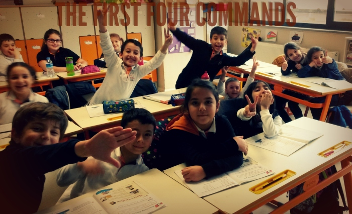 the first four commands