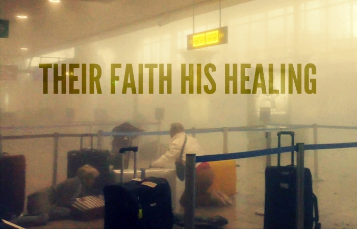 their faith his healing